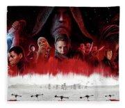 Star Wars The Last Jedi  Fleece Blanket