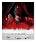 Star Wars The Last Jedi  Fleece Blanket