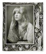 Stevie Nicks Fleetwood Mac Fleece Blanket