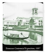 Tennessee Centennial Exposition, Auditorium Building, Lake And G Fleece Blanket