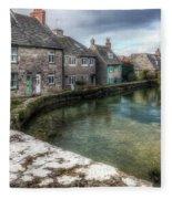 Swanage - England Fleece Blanket