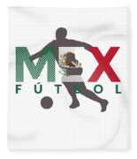 2018 Soccer Cup Mexico Flag Mex Championship Iso Fleece Blanket