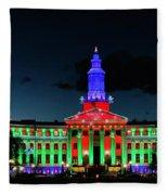 2019 Civic Center Denver Fleece Blanket