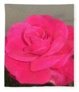 Pink Rose Fleece Blanket