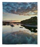 The Bass River Fleece Blanket