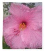 Hibiscus Fleece Blanket