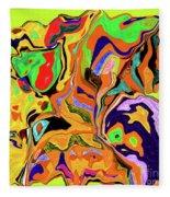 3-19-2010wabcdefghiklmnop Fleece Blanket