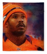 Denver Broncos.von Miller. Fleece Blanket