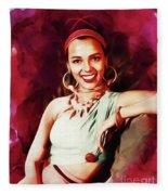 Dorothy Dandridge, Hollywood Legend Fleece Blanket