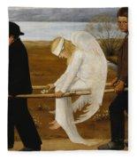 The Wounded Angel Fleece Blanket