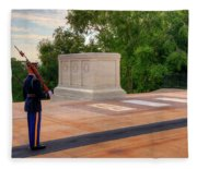 Tomb Of The Unknown Soldier Fleece Blanket