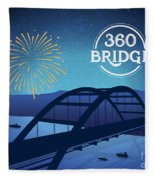 360 Bridge Fleece Blanket