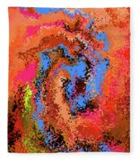 4-9-2008dab Fleece Blanket