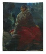 Oil Painting Fleece Blanket
