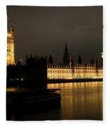 River Thames Fleece Blanket