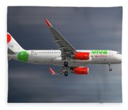 Vivaaerobus Airbus A320-232 Fleece Blanket