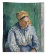 Washerwoman  Study  Fleece Blanket