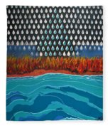 40 Years Reconciliation Fleece Blanket