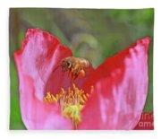 Honeybee Fleece Blanket