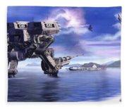 501st Mech Defender Fleece Blanket