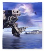 501st Mech Defender Fleece Blanket