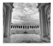 Arlington National Cemetery Memorial Amphitheater Fleece Blanket