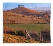 Colmers Hill - England Fleece Blanket