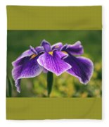 Iris Allure Fleece Blanket