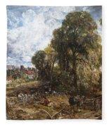 Stoke-by-nayland Fleece Blanket