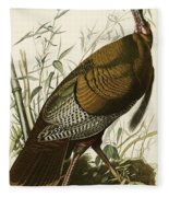 Wild Turkey  Fleece Blanket