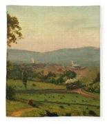 The Lackawanna Valley Fleece Blanket