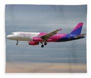 Wizz Air Airbus A320-232 Fleece Blanket