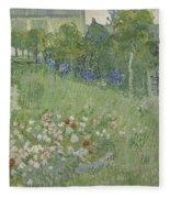 Daubignys Garden  Fleece Blanket