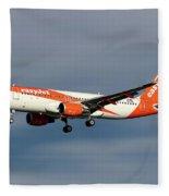 Easyjet Airbus A320-214 Fleece Blanket