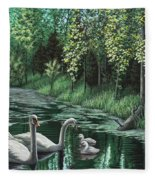 A Day Out Fleece Blanket