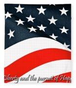 A Declaration Fleece Blanket