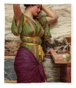 A Fair Reflection, 19th Century Fleece Blanket