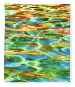 A Feast Of Colours Fleece Blanket