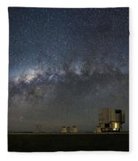 A Galactic View From The Observation Deck Fleece Blanket
