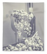 A Grape Gala Fleece Blanket