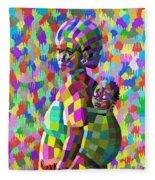 A Mother's Love Fleece Blanket