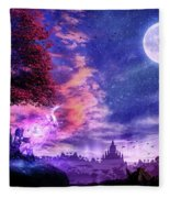 A Place For Fairy Tales Fleece Blanket