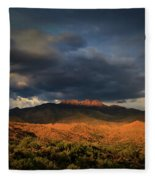 A Sliver Of Hope Fleece Blanket by Rick Furmanek
