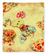 A Weathered Tailors Abstract Fleece Blanket