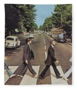Abby Road Fleece Blanket