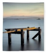 Aberdour Pier Fleece Blanket