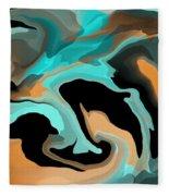 Abstract Colors  Fleece Blanket