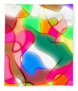 Abstract G1 Fleece Blanket