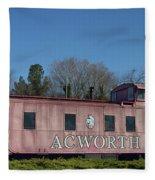 Acworth Ga Fleece Blanket