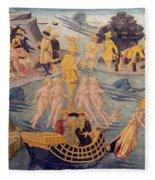 Adventures Of Ulysses, Detail Fleece Blanket